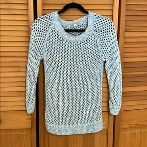 GAP Sweaters - Gap light blue and white sweater